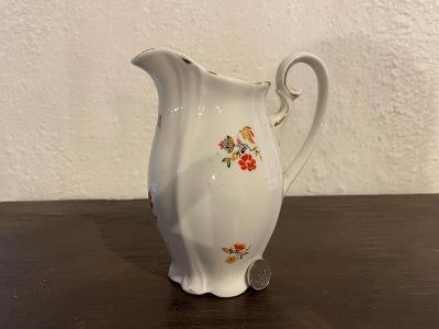 Starožitný porcelánový džbanek nebo mléčenka značeno Brandýská cikorka
