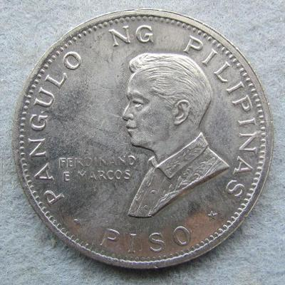Filipíny 1 peso 1970