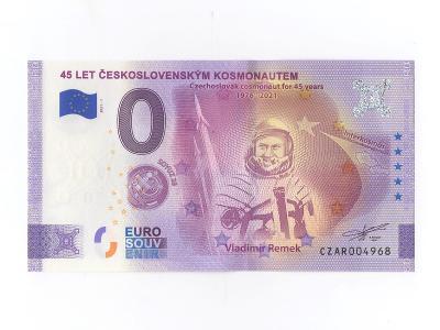 !!! 0 EURO Souvenir - BANKOVKA - Vladimír REMEK (45.výročí) - NOVÉ !!!