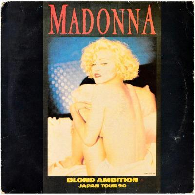Gramofonová deska MADONNA - Blond ambition Japan tour '90 (2LP)