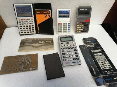 4x Kalkulačka + další drobnosti