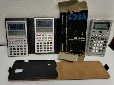 3x Kalkulačka + další drobnosti