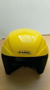 Lyžařská přilba/ helma Razer 55 cm S/ L žlutá