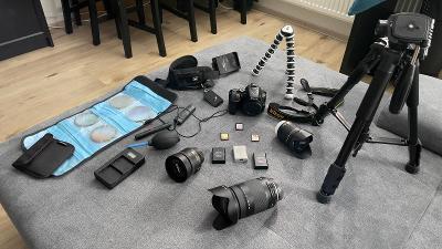 Nikon D5600 + 3 objektivy