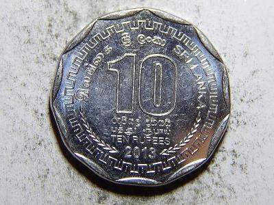 Srí Lanka 10 Rupees 2013 UNC č24215