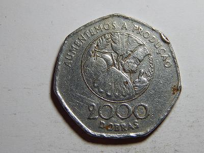 Sv. Tomáš a Princův ostrov 2000 Dobras 1997 RR F č26460