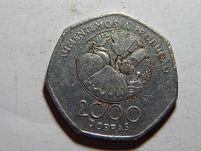 Sv. Tomáš a Princův ostrov 2000 Dobras 1997 RR VF č26444