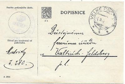 Úřední lístek Velké Pavlovice