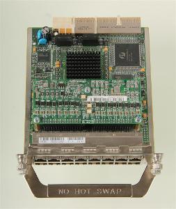 JD618A HP MSR 16-port 10/100 PoE MIM Module