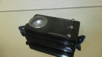 H3. Stará baterka svítilna s přepínači