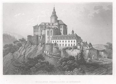Frýdlant, Meyer, oceloryt, 1850