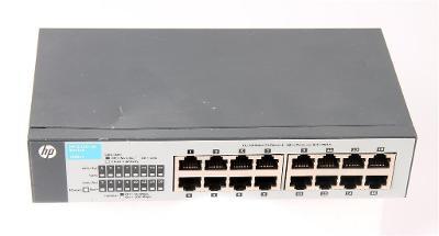 J9662A HP V1410-16, 16-Port 10/100Mb Switch w/o Power Supply 12V 0.3A