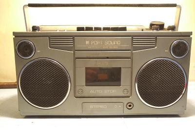 RELECTRIC FORSALJNINGS AB - Port Sound - starý radio magnetofon
