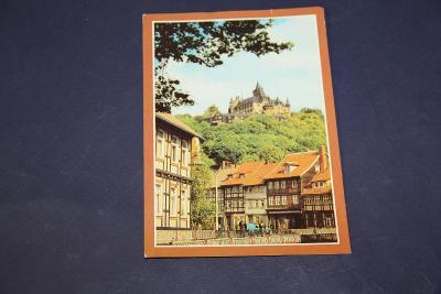 stará pohlednice Wernigerode DDR 1981 15 x 10,5 cm VÍC V POPISU