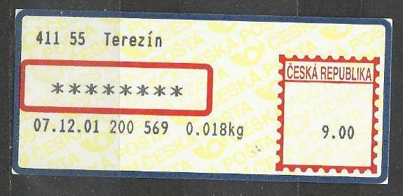APOST - Terezín - 2B/3 - hvězdičky