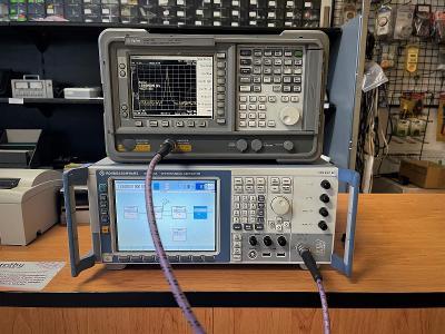 Agilent E4411B  spektrální analyzátor 9kHz - 1,5GHz