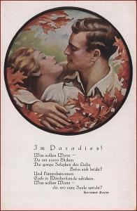 Žena * muž, dvojice, láska, báseň, gratulační * M4401