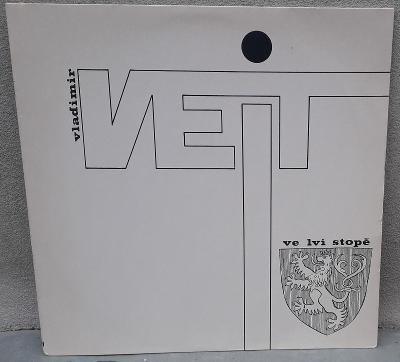 LP:Vladimír Veit-Ve Lví Stopě 1.AUSTRIA press 1985 EX/MINT=jako nové