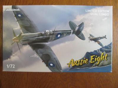 Aussie Eight eduard 1:72 limited edition, dual combo s knihou