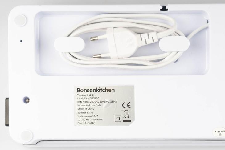 Vaukovačka Bonsenkitchen VS3750 / suché i mokré/tavička/Od 1Kč! - Malé elektrospotřebiče