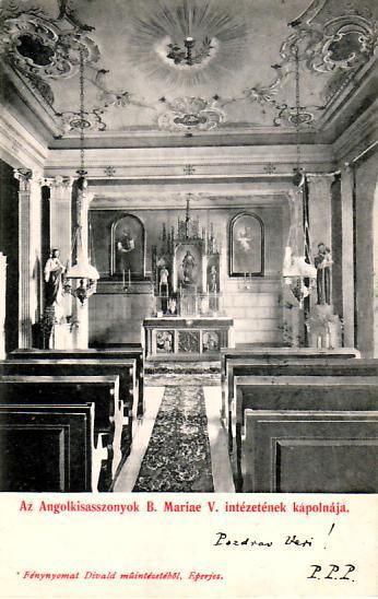 Prešov - Eperjes, DA, PP, kaplnka angl.ústavu pre dievčatá.