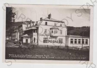 Železná Ruda, hotel, penzion Praha