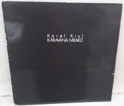 LP:KAREL KRYL /1.Sweden press z r.1979/ Karavana mraků LP=NM=skoro noé