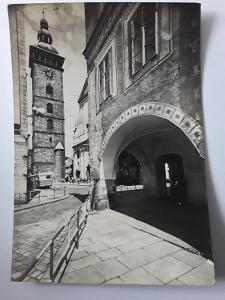 Pohlednice ČESKÉ BUDĚJOVICE  Černá věž