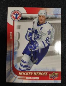2016 Hockey Heroes / Doug Gilmour / Toronto Maple Leafs