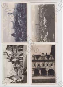 4x Domažlice, celkový pohled, částečný záběr města