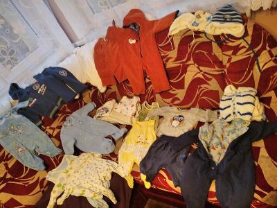 Mega set oblečení kluk, vel. 56-74
