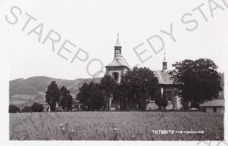 Tatobity, kostel sv.Vavřince