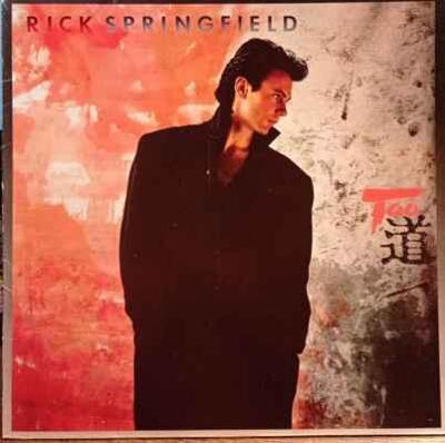 LP Rick Springfield - Tao, 1985 EX