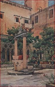 Dubrovnik (Ragusa) * umělecká * Chorvatsko (Jugoslávie) * Z084