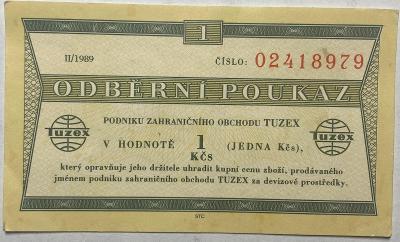 TUZEX BONY 1 1989