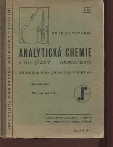 Analytická chemie, II. díl (část organická)