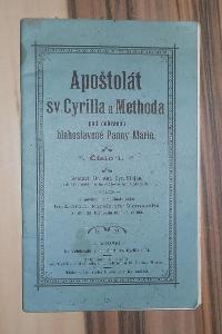 APOŠTOLÁT SV. CYRILLA A METHODA, 1901