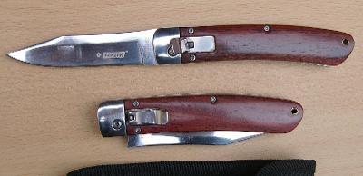Vystřelovací nůž kandar 21/12 cm