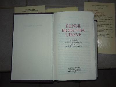 BREVIÁŘ laický, Karm. nakl. r. 1994, 1 ze 4 kusů