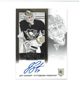 Jeff Zatkoff - Pittsburgh Penguins - autographed