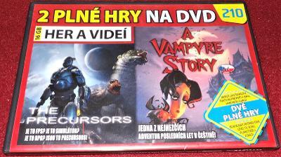 2X PC hra - A Vampyre Story ....