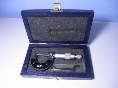 MIKROMETR KINEX 0-25mm, 0,01mm