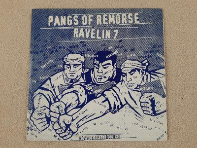 """Pangs Of Remorse / Ravelin 7 – New Age Split Record  10"""""""