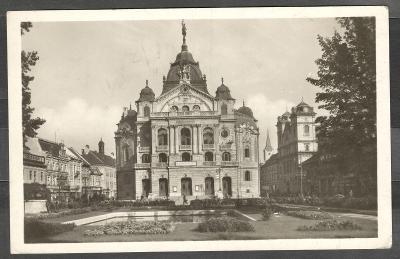 Košice 1947 divadlo, poutač Madame Butterfly