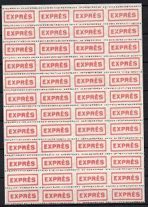 """Dopisní zálepka či nálepka """"EXPRÉS"""" 4x12 ** (1)"""