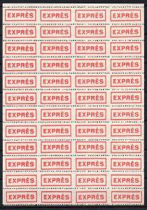 """Dopisní zálepka či nálepka """"EXPRÉS"""" 4x12 ** (2)"""