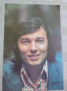 Karel   GOTT - karta Supraphonu - r. 1973