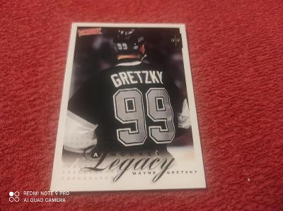 Gretzky hokejová kartička