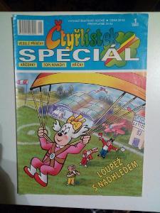 Čtyřlístek Speciál, Loupež z nadhledem, č. 1/2009, pěkný stav