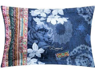DESIGUAL pillow exotic krásný povlak -povlečení na polštář/80x 50cm/